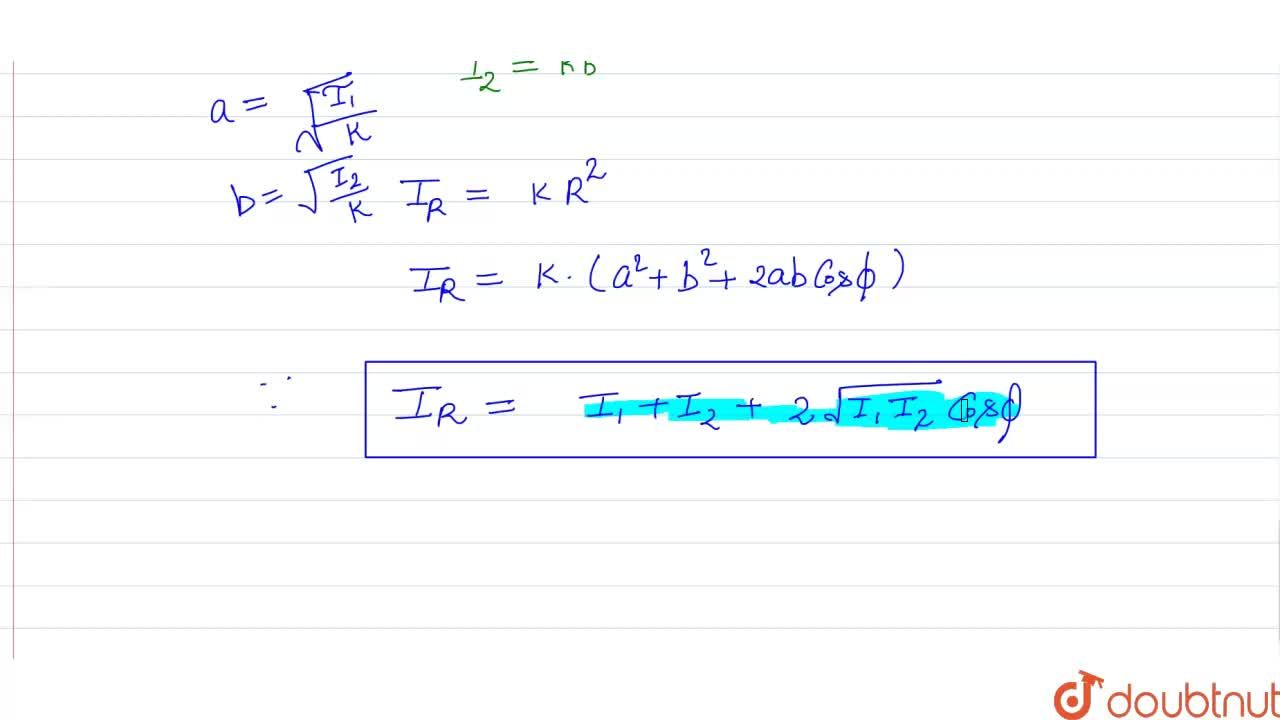 Solution for Principle Of Linear Superpostion