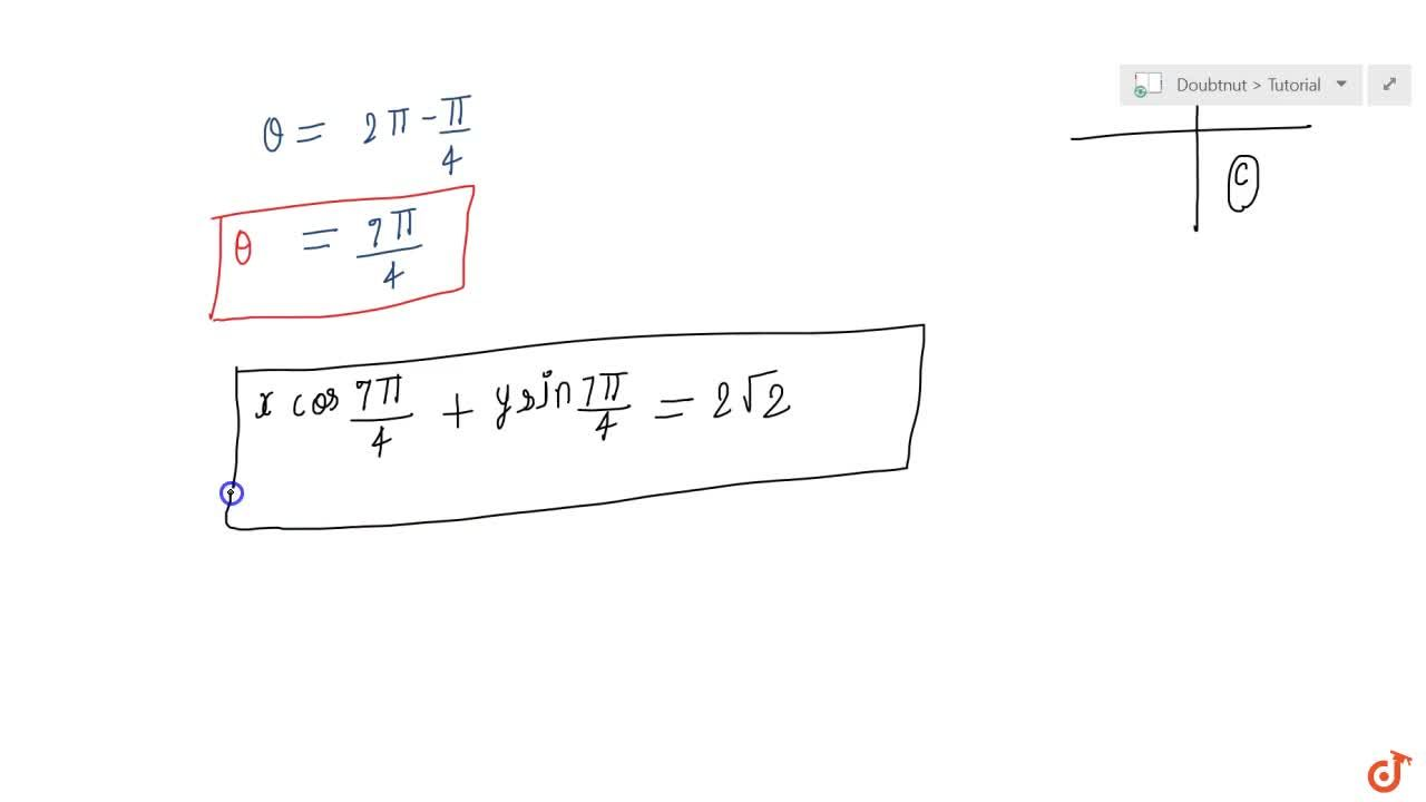 Solution for Reduce the following equations  into normal form.