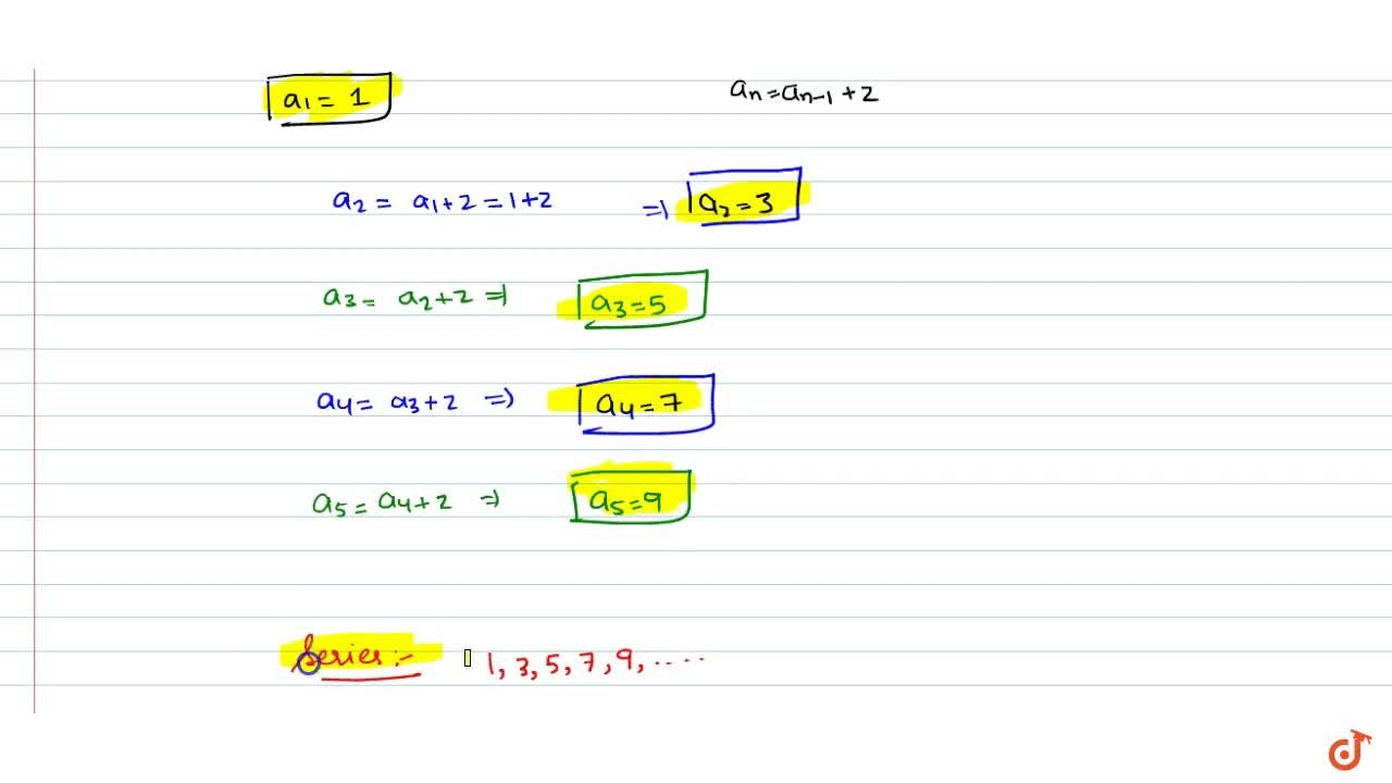 Solution for Let the sequence a_nbe defined as follows : a_1