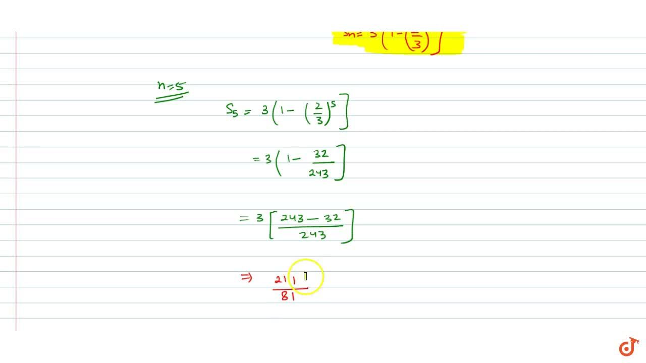 Solution for Find the sum of  first n terms and the sum of firs