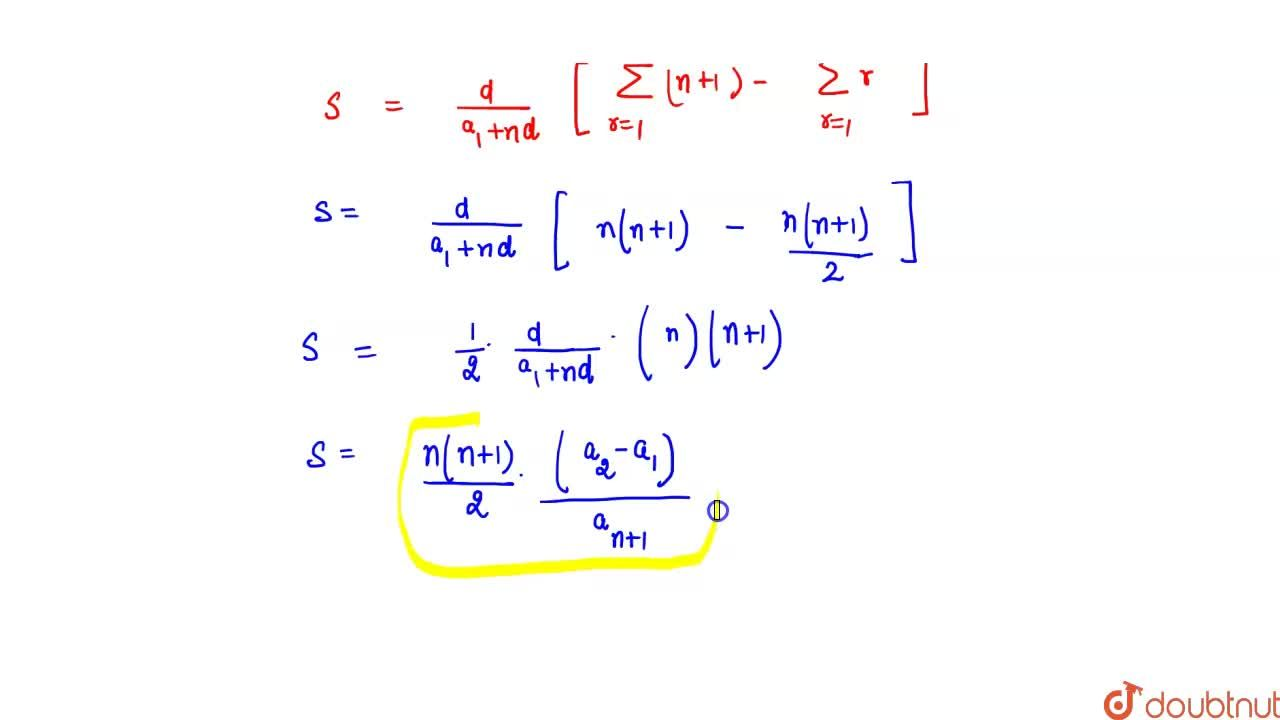 Solution for If a_1, a_2, a_3,  ,a_(2n+1) are in A.P., then