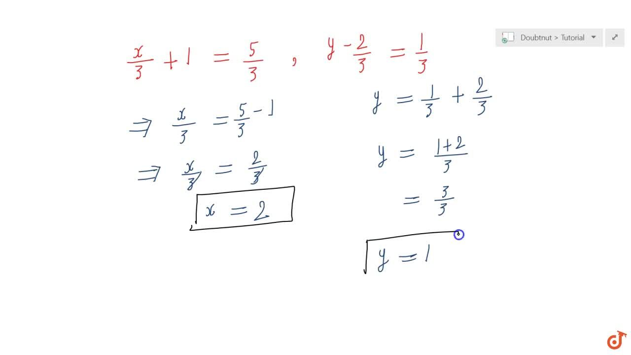 Solution for If (x,3+1,y-2,3)=(5,3,1,3), find the values of x