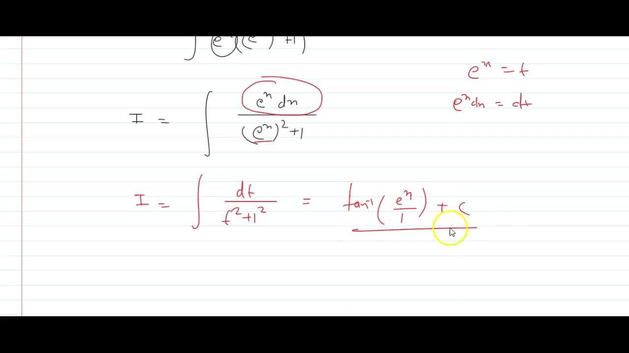 Solution for Evaluate: int1,(e^x+e^(-x))\ dx