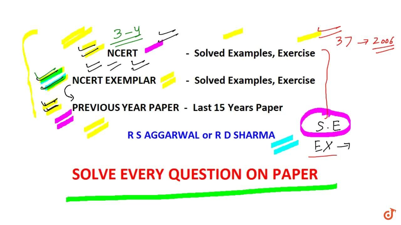 Solution for CLASS 12 BOARDS EXAM | IMPORTANT BOOKS TO SCORE 10