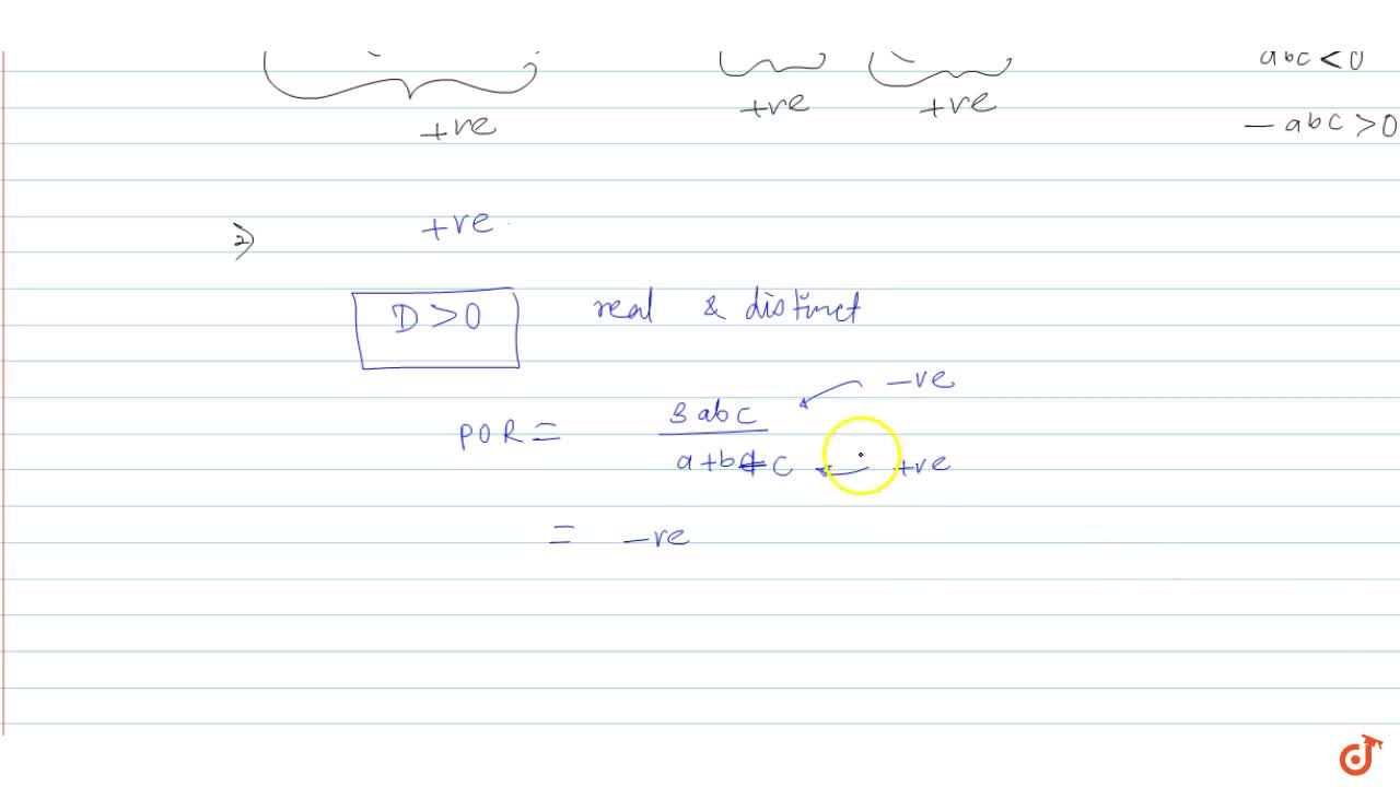 Solution for   If (a+b+c)>0 and a < 0 < b < c, th