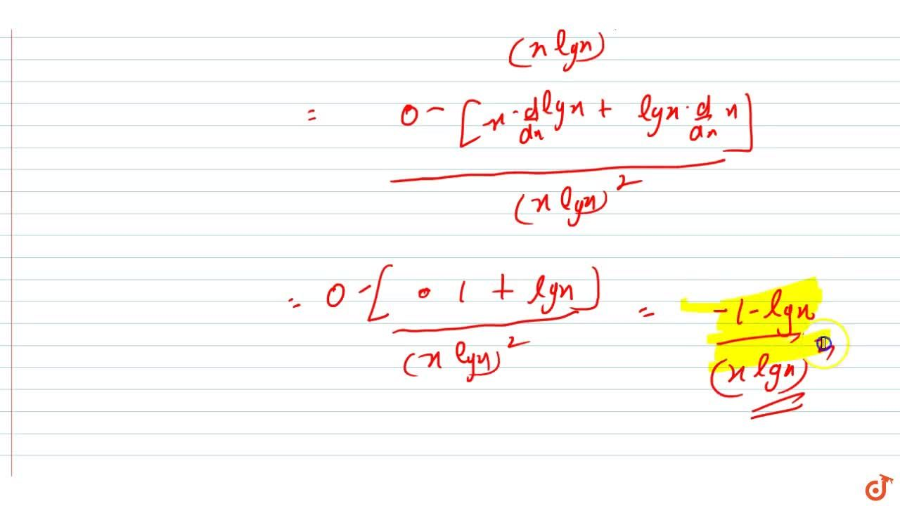 Solution for Find the second order derivatives of the functions