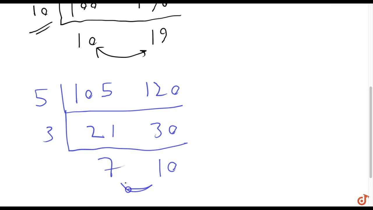 Solution for Define HCF of two   positive integers and find th