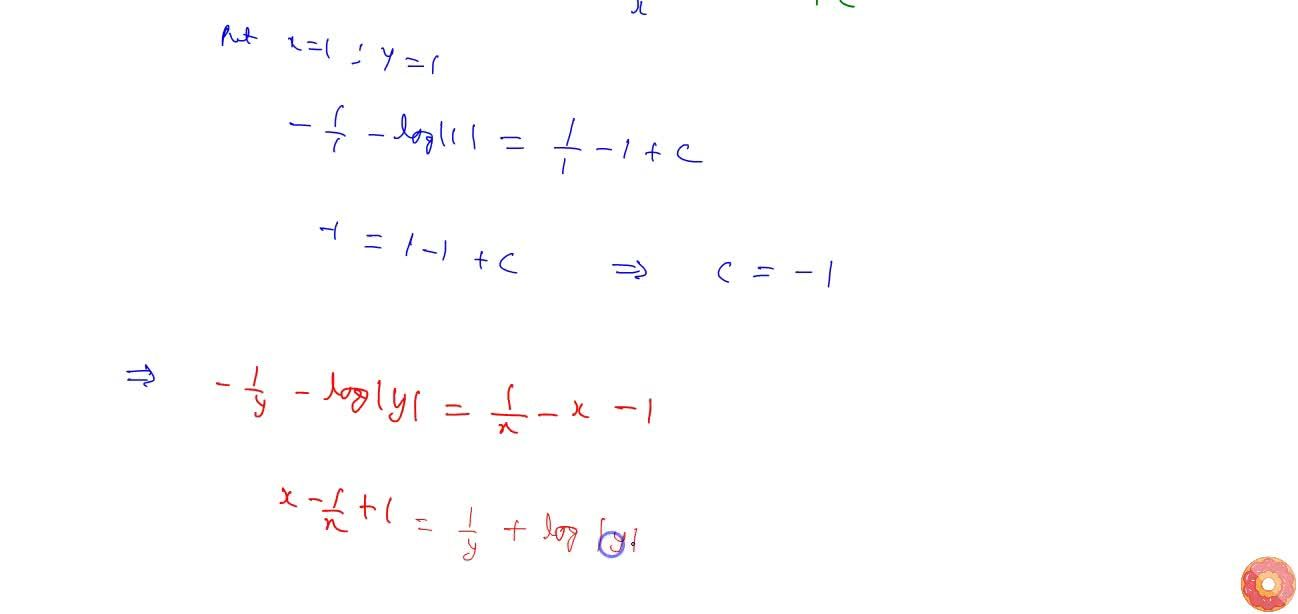 Solution for Solve the   differential equation (x^2-y)dy+(y^2