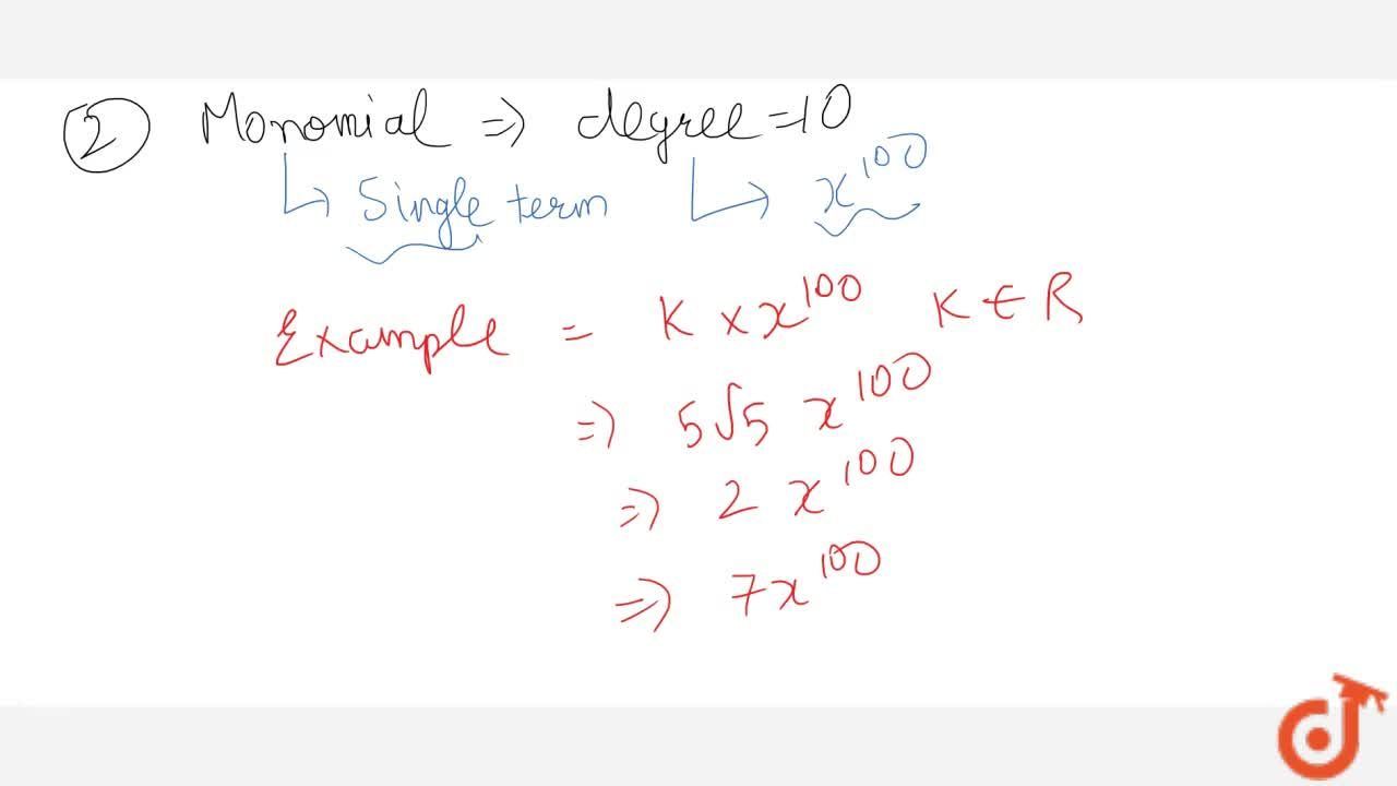 This Video will cover the following concepts - POLYNOMIALS