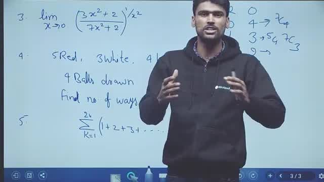 Solution for JEE Mains 2020 January - 8 Jan Shift 1 | Maths Pap