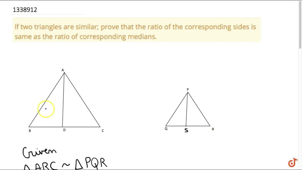 This Video will cover the following concepts - CRITERIA FOR SIMILARITY OF TRIANGLES, PROPERTIES OF SIMILAR TRIANGLE
