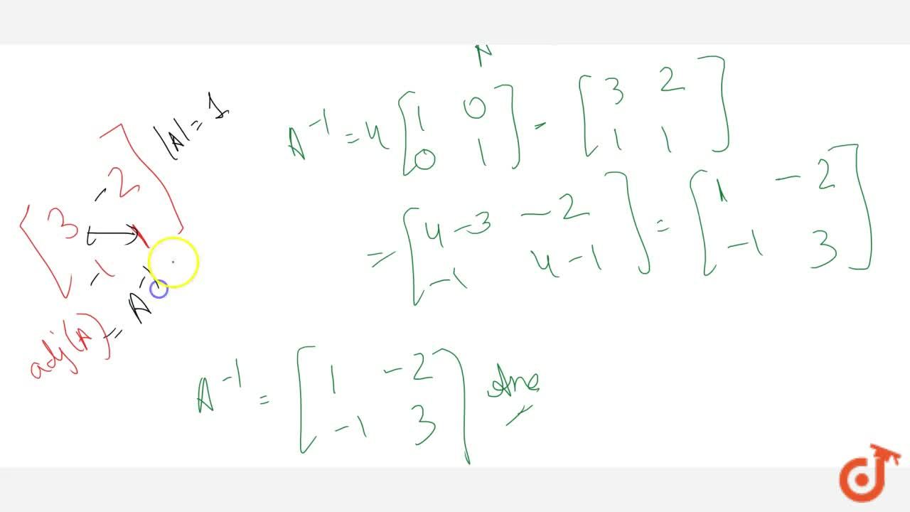 Solution for For the matrix A=[3 2 1 1] , find the numbers a