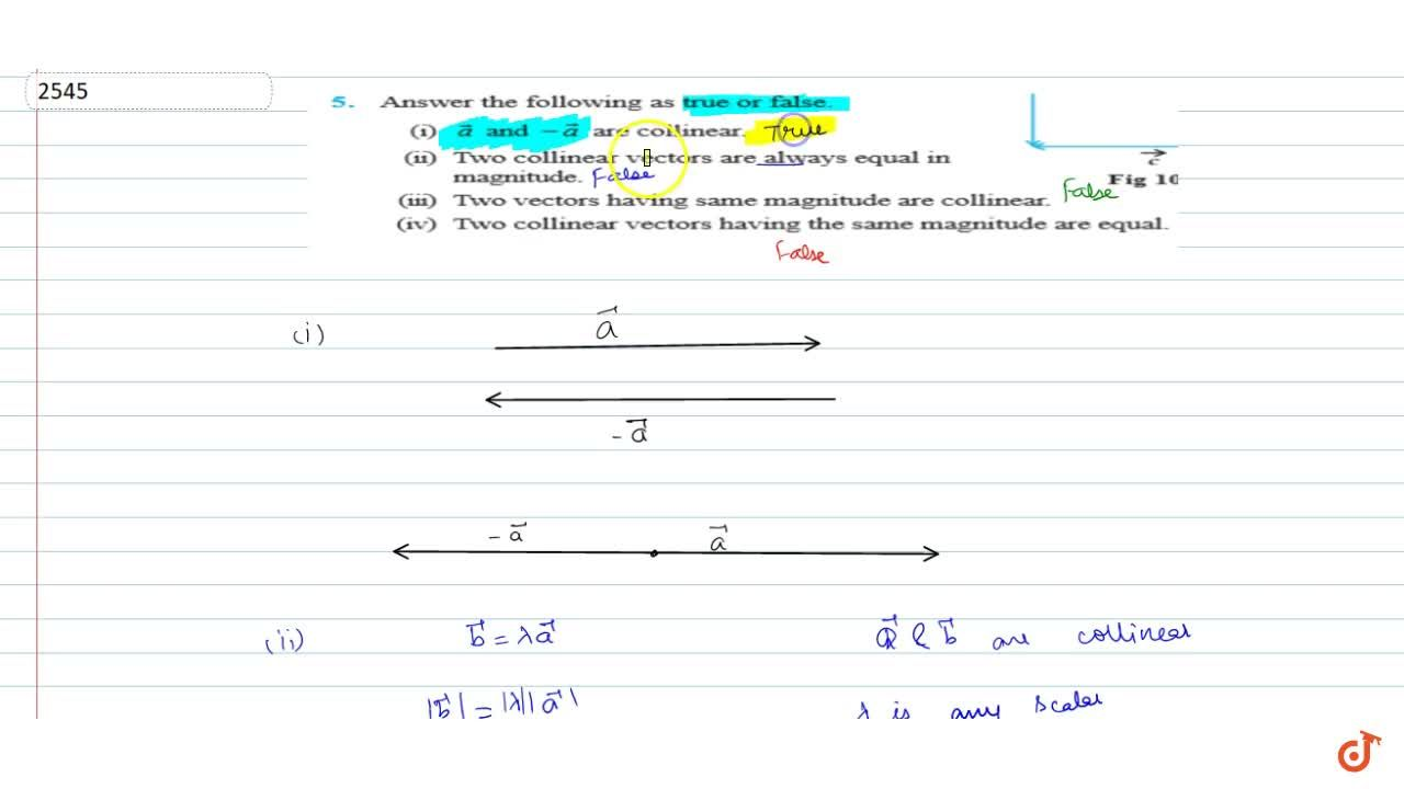 Solution for Answer  the following as true or false.<br>(i)