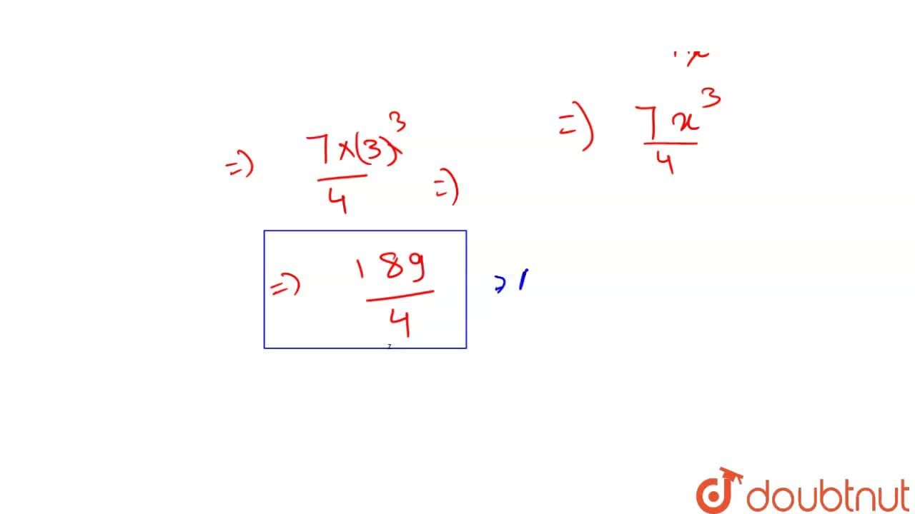 Solution for Evaluate lim_(x to 3)  (x^(7) - 2187),(x - 81)