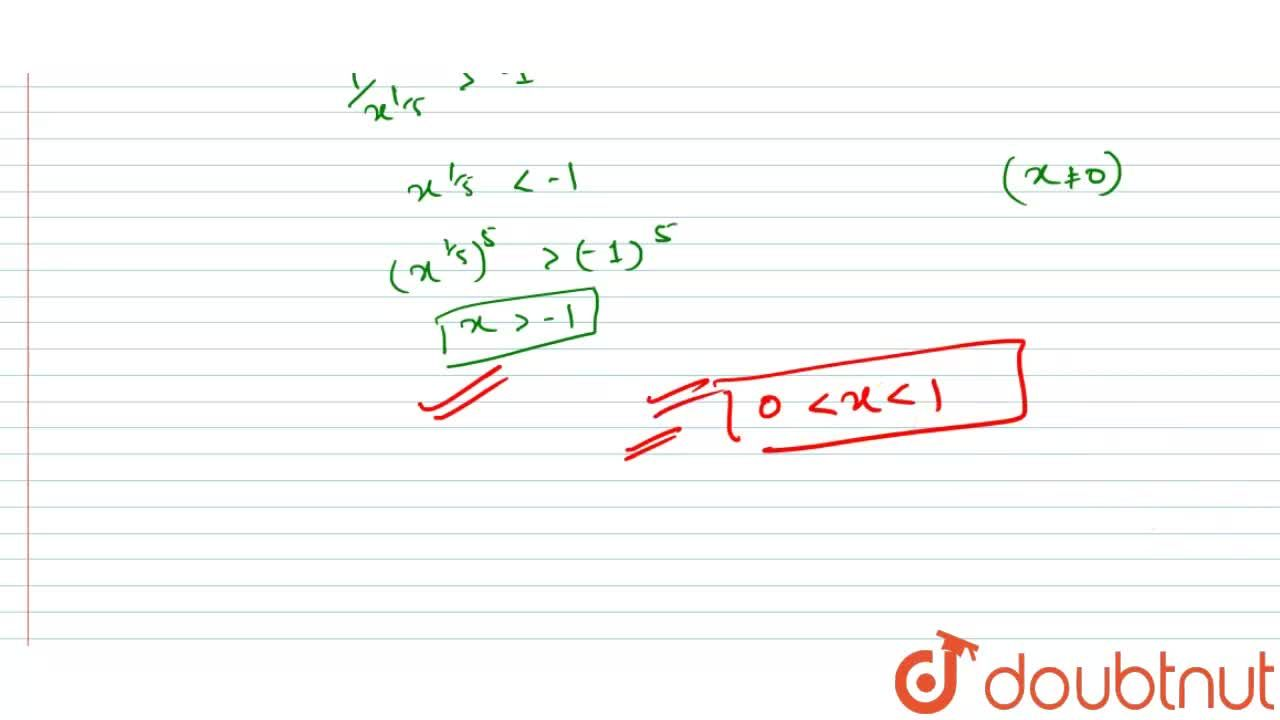 The domain of definition of the function f(x) = log_(3) {-log_(1,,2)(1+(1),(x^(1,,5)))-1}