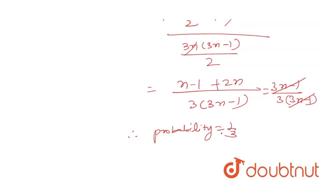 Solution for Two numbers a and b are chosen at random from the