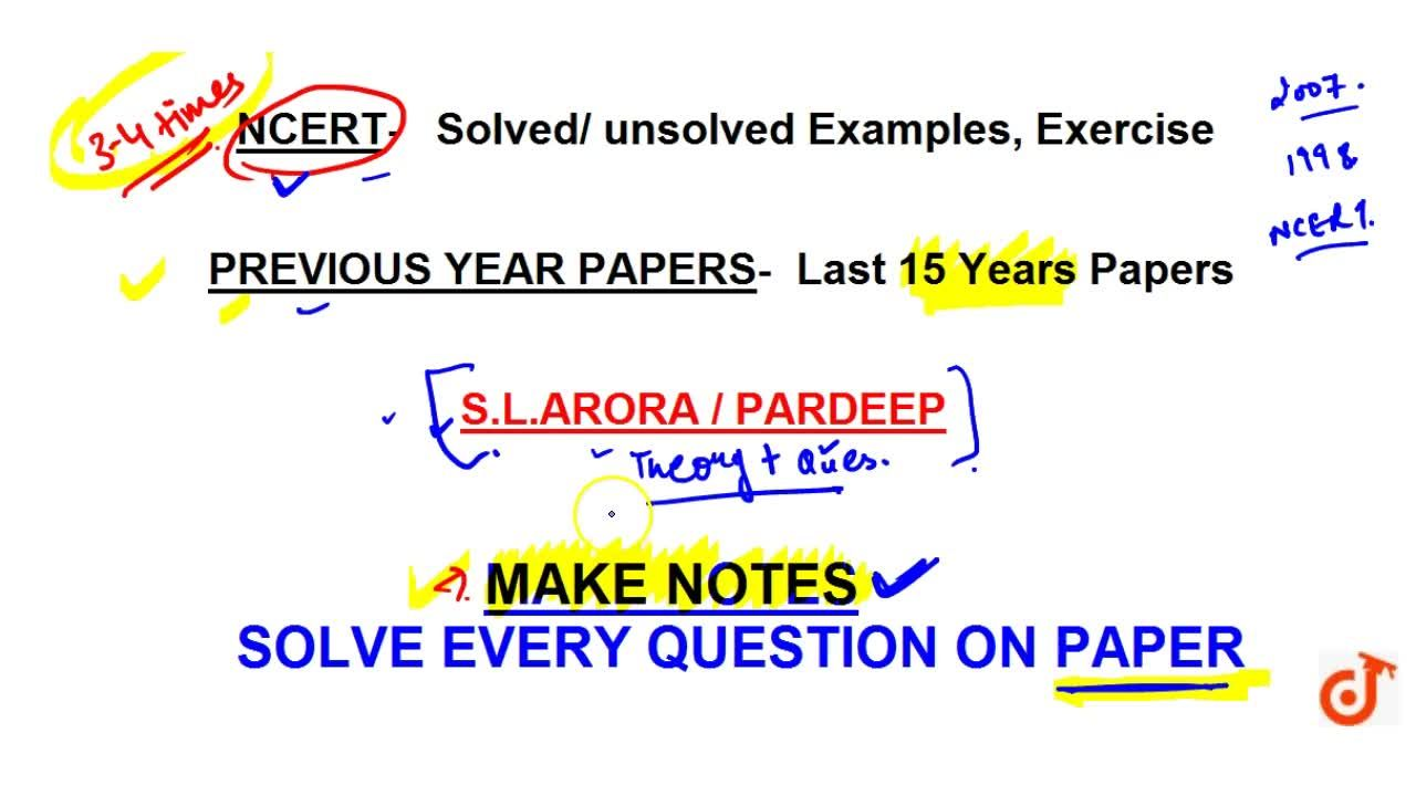 Solution for BEST BOOKS FOR PHYSICS TO SCORE 100 MARKS IN CLASS