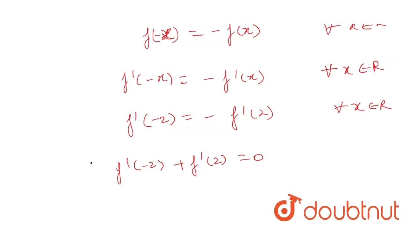 If f(x-y), f(x) f(y) and f(x+y)  are in A.P. for all x, y in R and f(0)=0. Then,