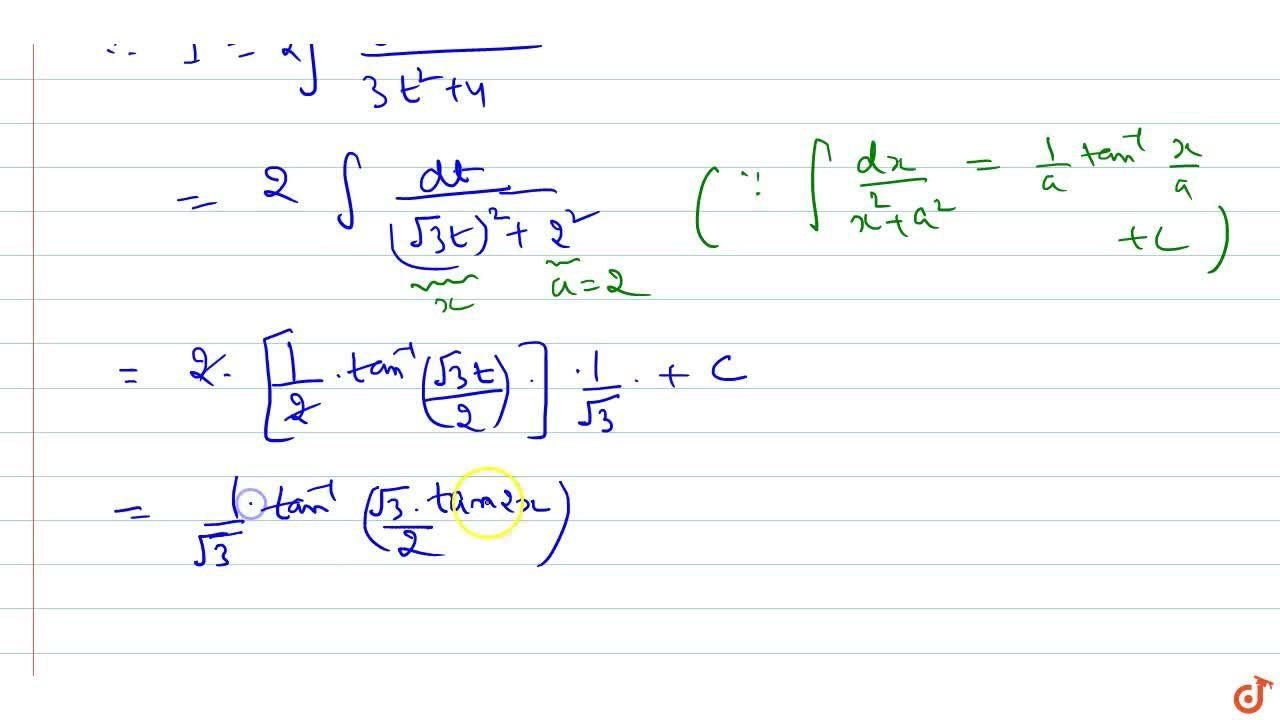 Solution for Evaluate: int1,(sin^4x+sin^2xcos^2x+cos^4x)\ dx