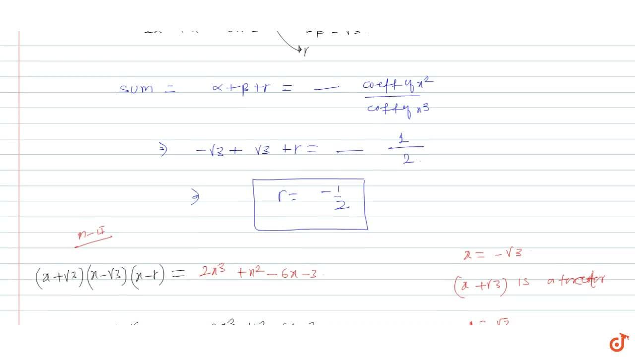 Solution for Find all the zeroes of the polynomial 2x^3 + x^2