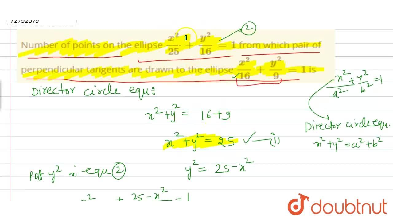 Solution for Number of points on the ellipse (x^(2)),(25) + (y