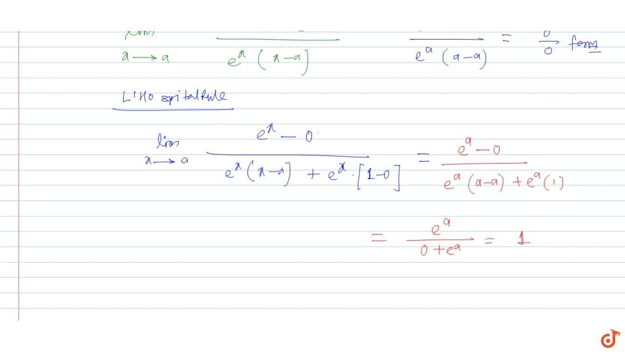 Solution for The value of lim_(x->a)log(x-a),(log(e^x-e^a) is