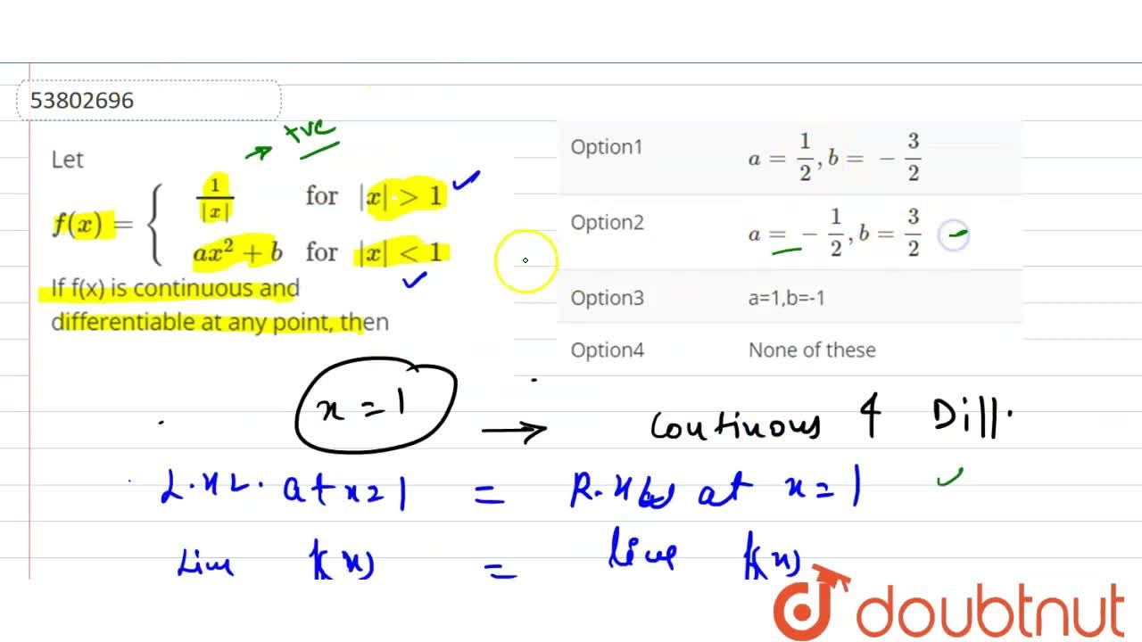 """Let f(x)={{:(,(1),(