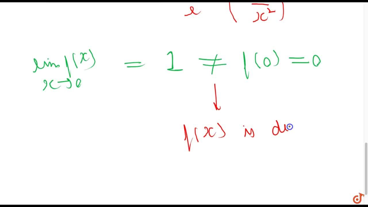 Solution for Show that the function f(x) given by f(x)={((e