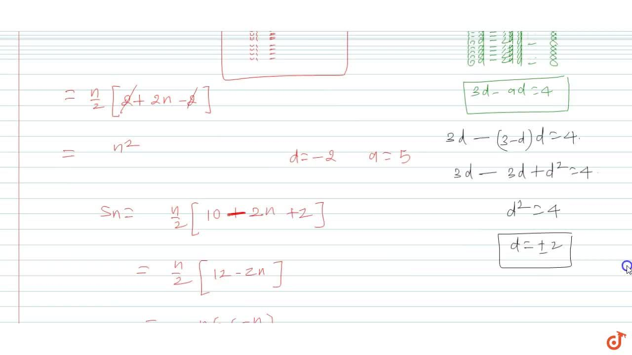 Solution for The sum of the first three terms of an A.P. is 9