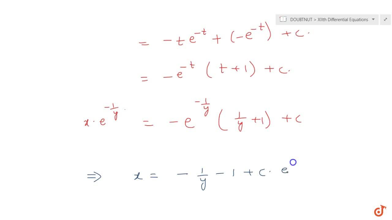 Solution for Solve the differential equation: y^2+(x+1,y)(dy),