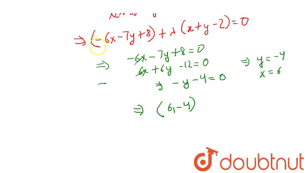 Solution for A circle touching the line x +y - 2 = 0 at (1,1)