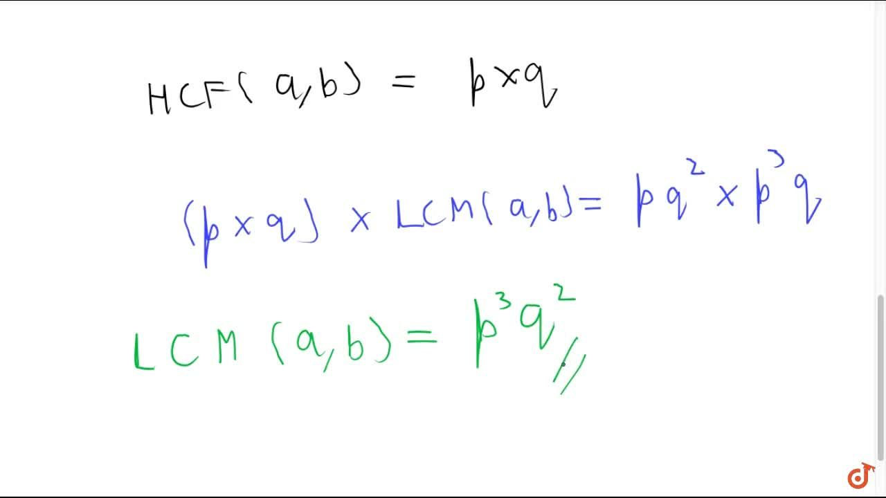 If two positive   integers a and b are expressible in the   form a=p q^2 and b=p^3q ; p ,\ q being prime numbers,   then LCM (a ,\ b) is p q (b) p^3q^3 (c) p^3q^2 (d) p^2q^2