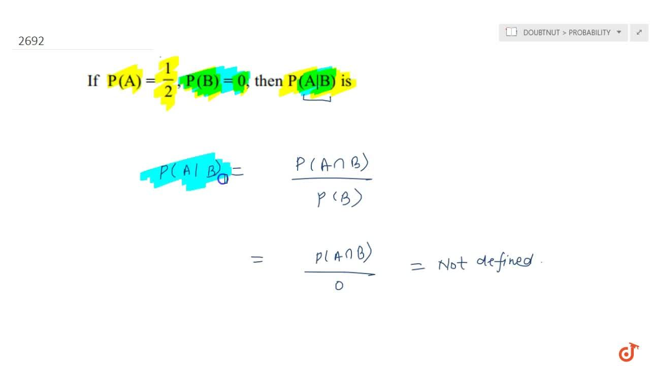 Solution for In each of the Exercises choose  the correct answe