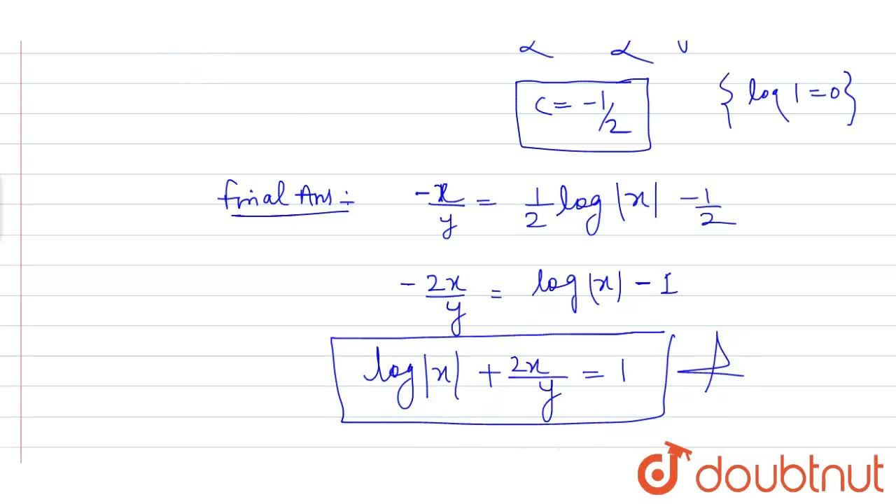 Solution for Find the particular solution of the differential e