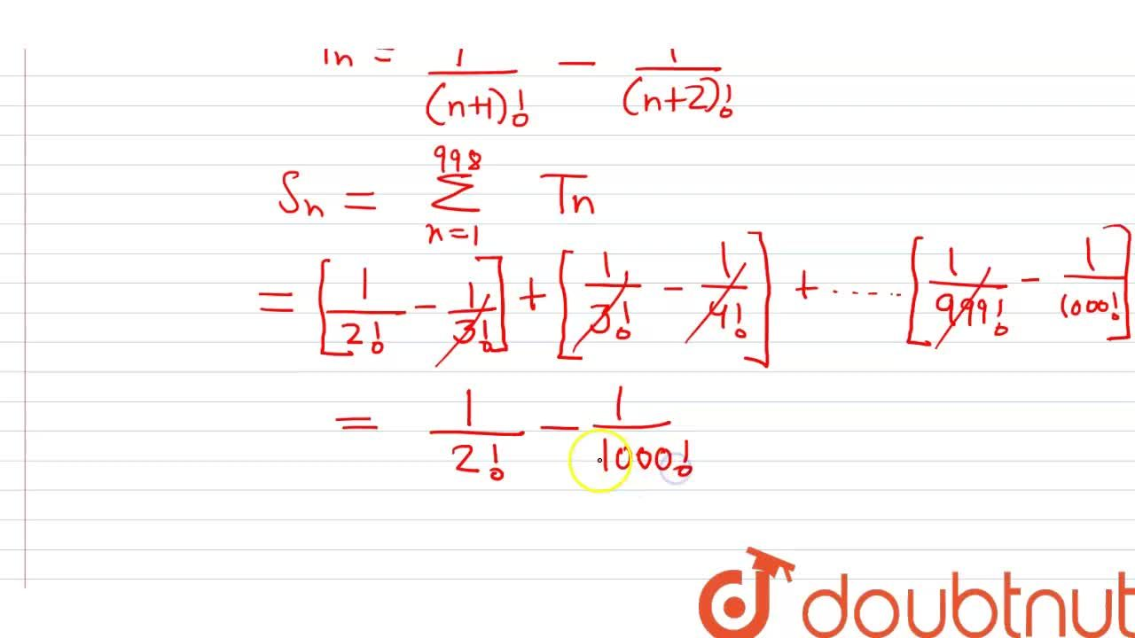 Find the sum  <br> 3,(1!+2!+3!)+4,(2!+3!+4!)+...+1000,(998!+999!+1000!)