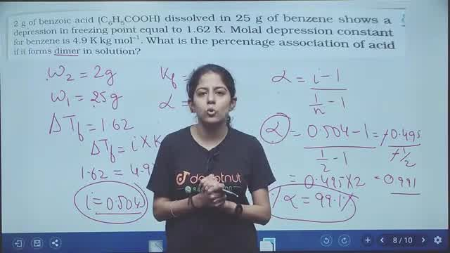 Solution for Class 12 Chemistry Chapter 1 Solutions Important Q
