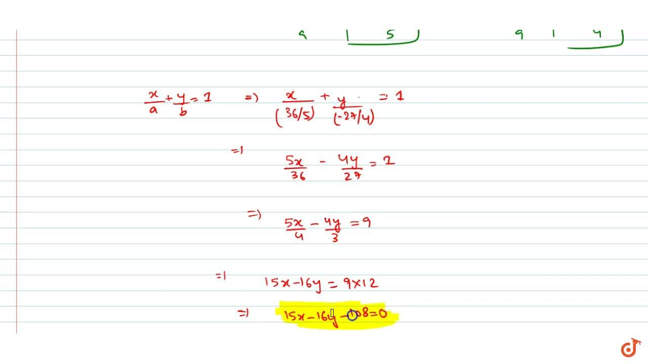 Solution for If (4, -3) divides the line segment between the