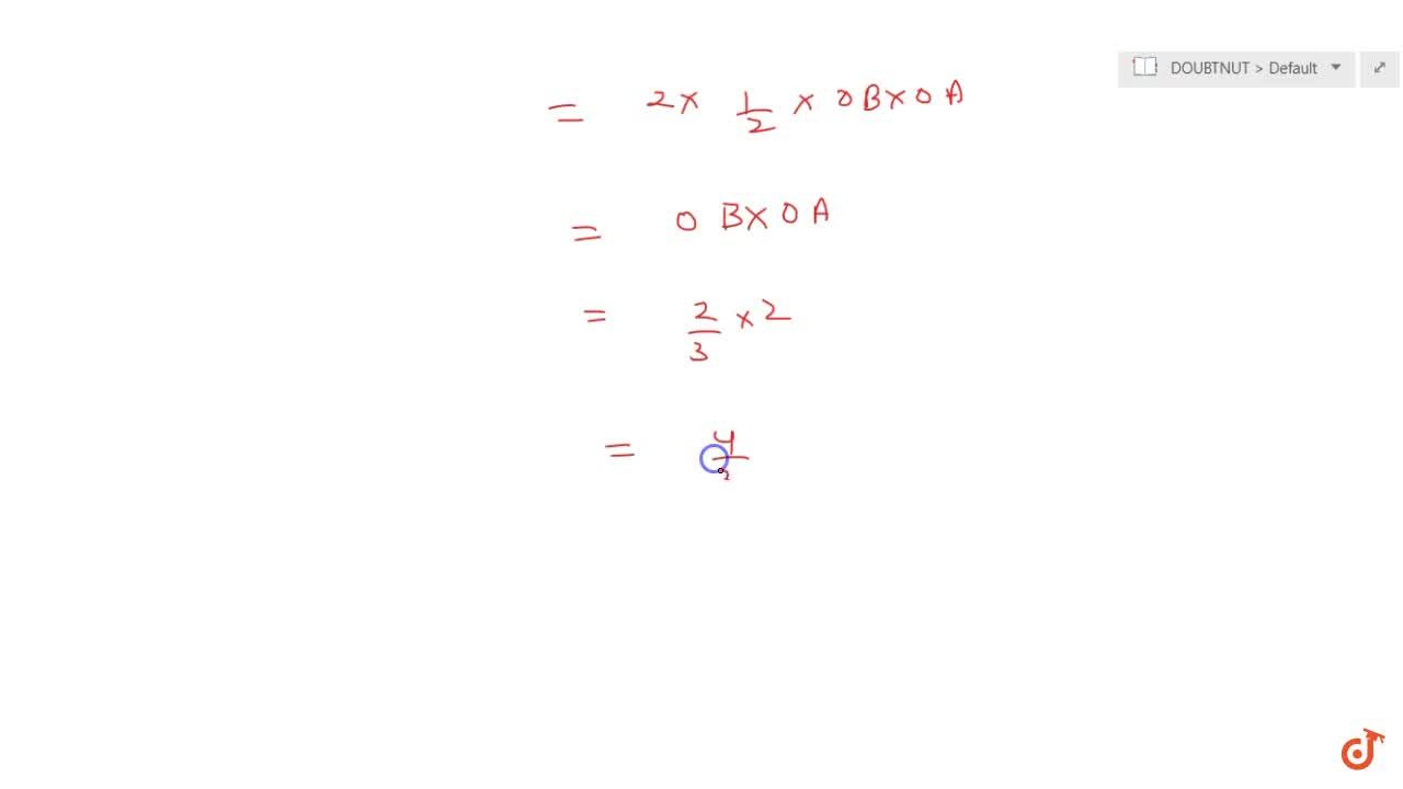 Find the area bounded by the curve y=-3|x|+2 and x-axis