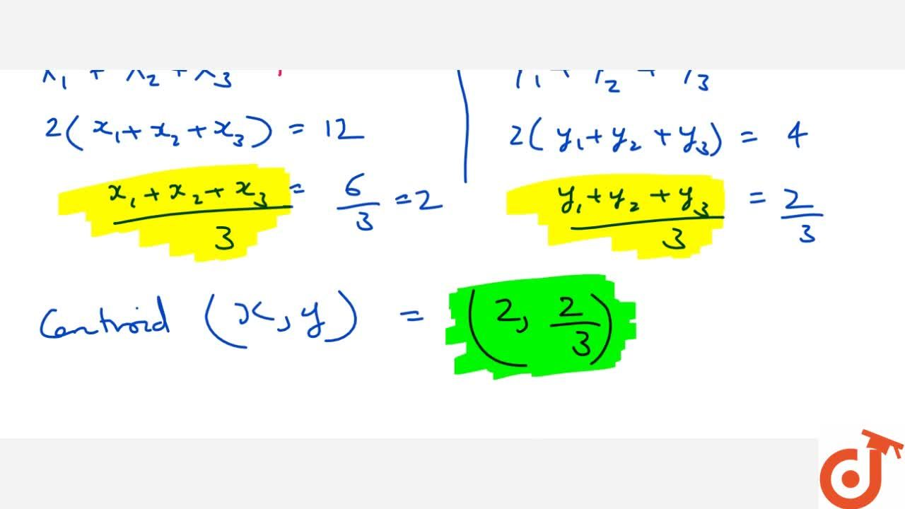 Solution for COORDINATE GEOMETRY   SECTION FORMULA, SOME APPLIC