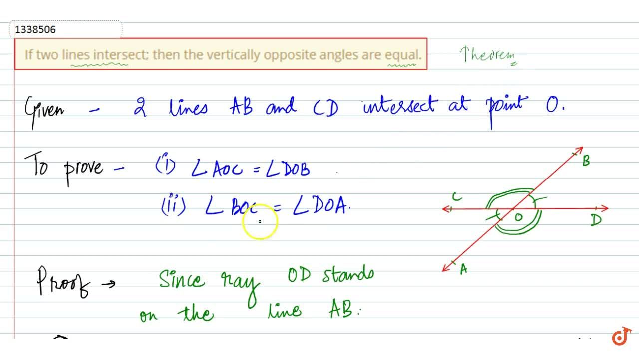 Solution for LINES AND ANGLES | RELATION BETWEEN ANGLES | Adjac