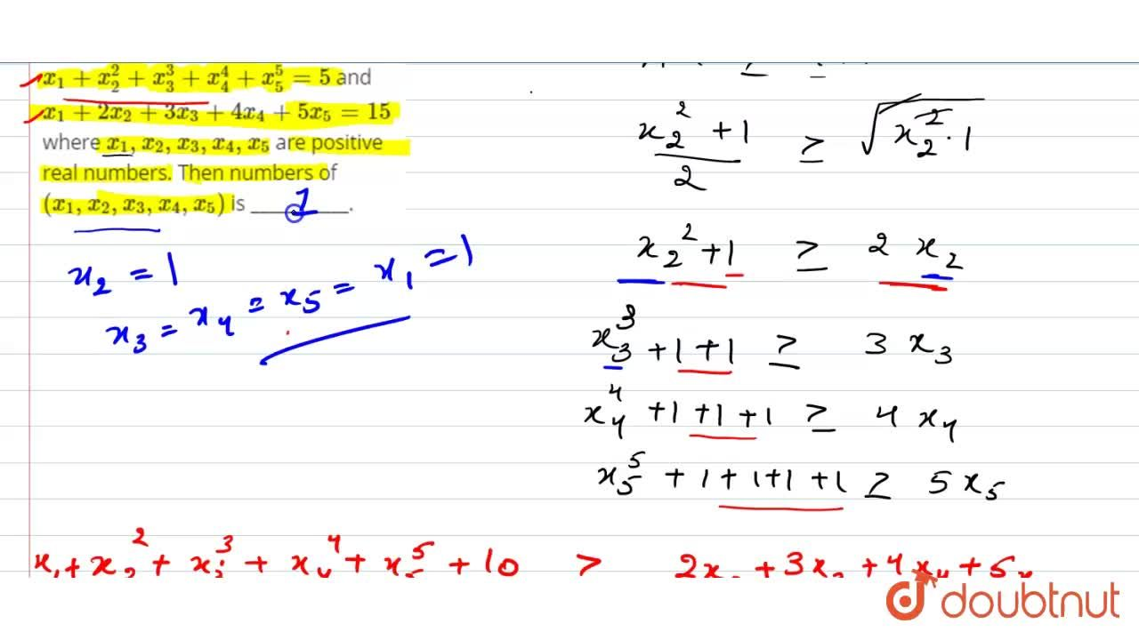 Solution for Consider the system of equations x_1+x_(2)^(2)+x_