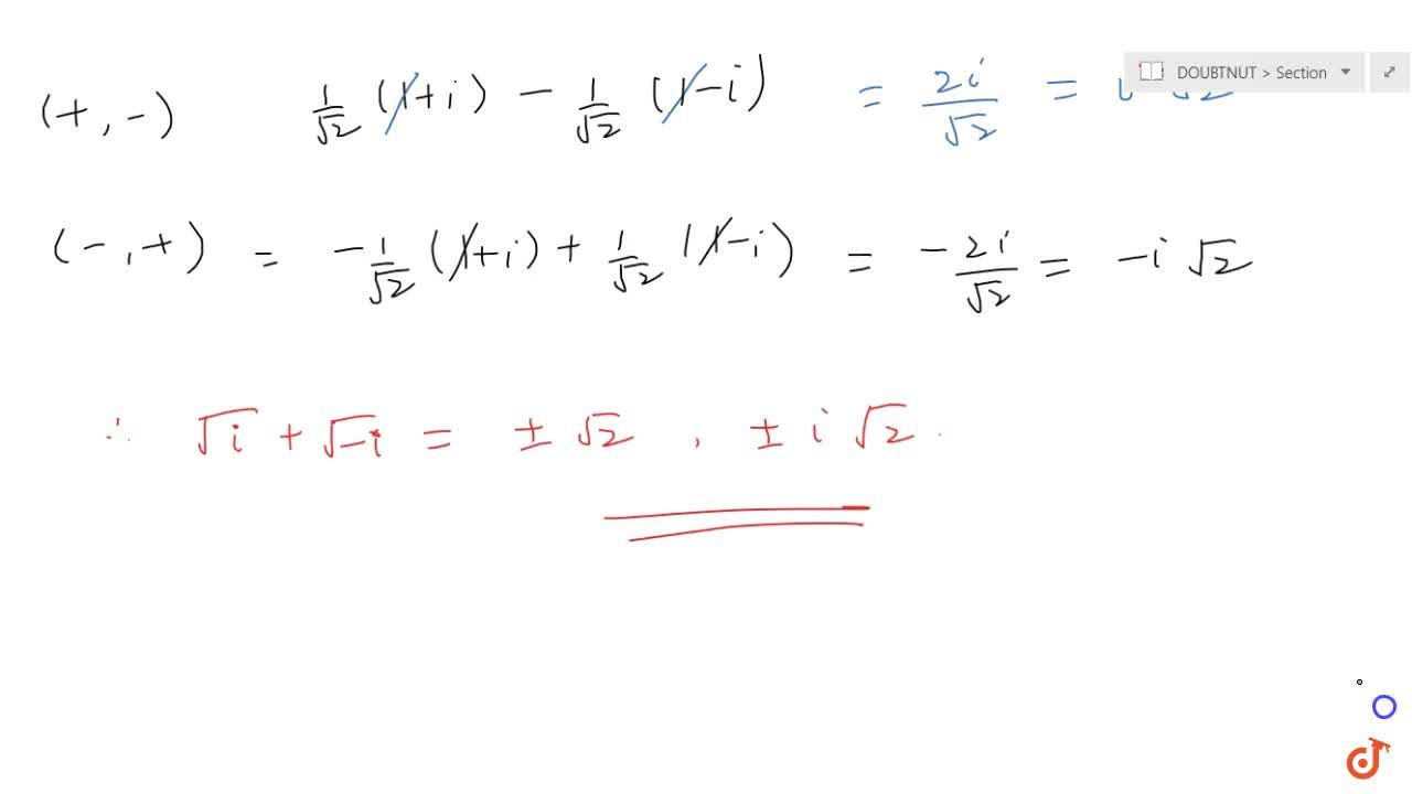 Solution for COMPLEX NUMBERS | STANDARD LOCI IN THE ARGAND PLAN
