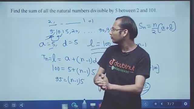 Solution for Class 10 Maths   Chapter 5   Arithmetic Progressio
