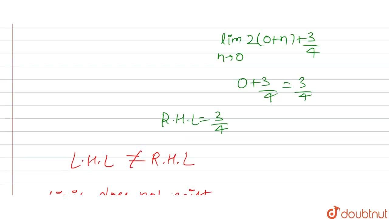 """Solution for If f(x)={{:(x+(1),(2)"""","""",xlt0),(2x+(3),(4)"""","""",xge"""
