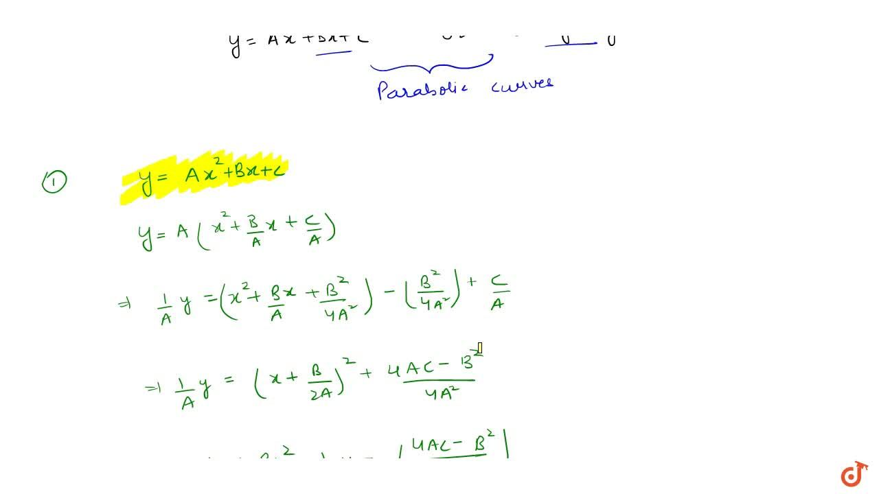Solution for PARABOLA | STANDARD EQUATION OF PARABOLA | Conic s