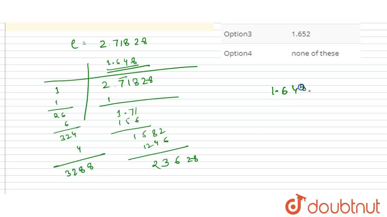 Solution for The value of sqrt(c ) rounded off of three decim