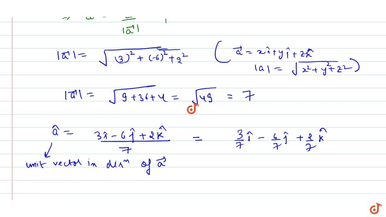Solution for VECTOR ALGEBRA | LINEAR COMBINATION LINEAR INDEPEN