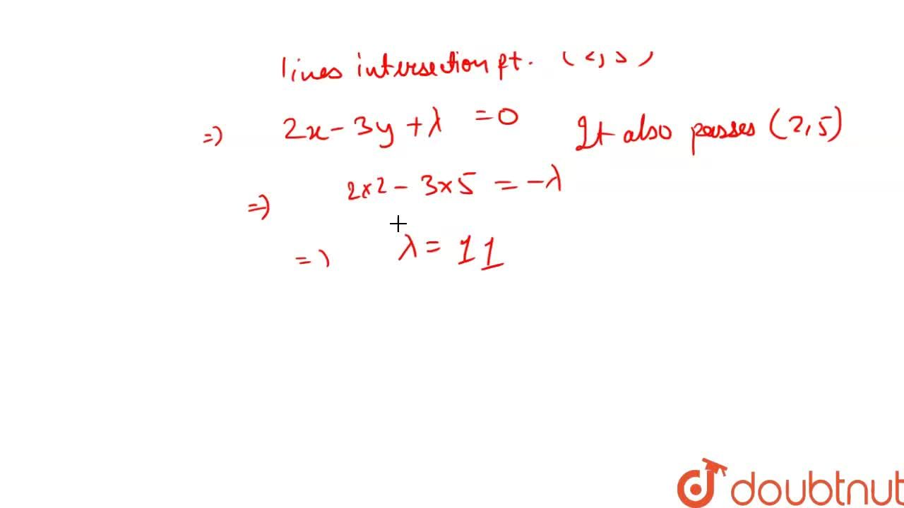 Solution for If the lines 3x^(2)-4xy +y^(2) +8x - 2y- 3 = 0 a