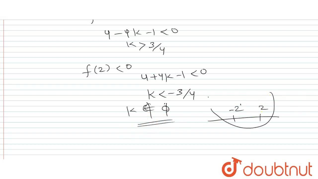 Solution for If x^(4) + 2kx^(3) + x^(2)  + 2kx + 1 = 0  <br>