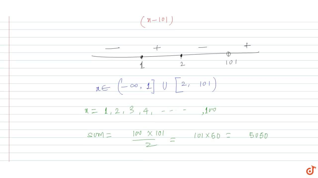 Solution for Sum of all positive integral values of x satisfyin